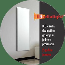 Radialight ICON WIFI - hibridni električni radijator