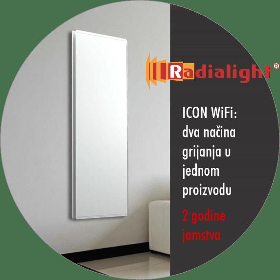 Radialight ICON WiFi - električni radijator